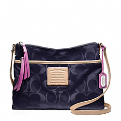 COACH F24861 - WEEKEND HIPPIE IN SIGNATURE NYLON FABRIC ONE-COLOR