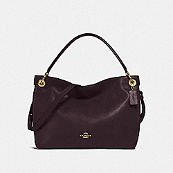 COACH F24947 Clarkson Hobo GD/OXBLOOD