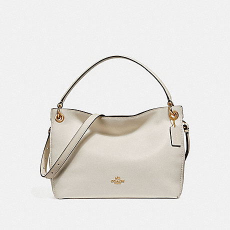 COACH F24947 CLARKSON HOBO CHALK/LIGHT GOLD