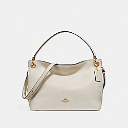 CLARKSON HOBO - F24947 - CHALK/LIGHT GOLD