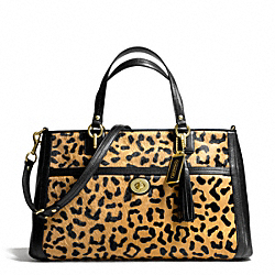 COACH F24985 - PARK HAIRCALF CARRYALL ONE-COLOR