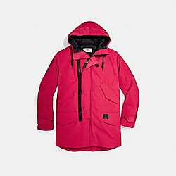 DOWN PARKA - f25002 - RED