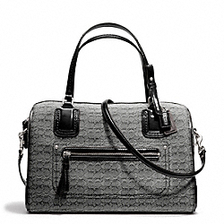 COACH F25047 Poppy Signature C Mini Oxford East/west Satchel