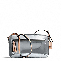 COACH F25056 Poppy Mirror Metallic Flight Bag
