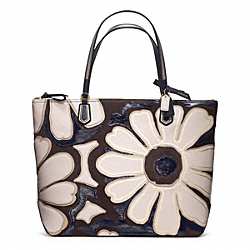 COACH F25071 Poppy Elevated Flower Tote