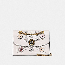 COACH F25160 Parker With Cut Out Tea Rose CHALK MULTI/OLD BRASS