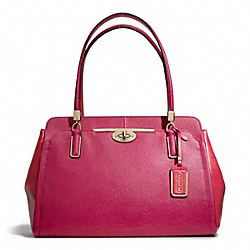 COACH F25171 Madison Spectator Saffiano Kimberly Carryall