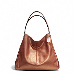 COACH F25173 Madison Phoebe Shoulder Bag In Metallic Leather