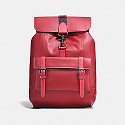 COACH F25200 Bleecker Backpack MAROON/BLACK COPPER FINISH