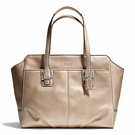 12a8a751df COACH F25205 - TAYLOR LEATHER ALEXIS CARRYALL - SILVER CHAMPAGNE ...