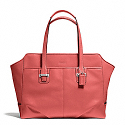 COACH F25205 - TAYLOR LEATHER ALEXIS CARRYALL SILVER/TEAROSE