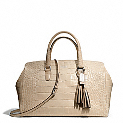 COACH F25328 - EMBOSSED CROC LARGE LOWELL ONE-COLOR