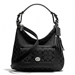 COACH F25372 - SIGNATURE COURTENAY HOBO ONE-COLOR