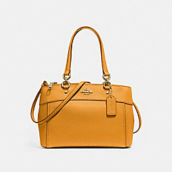 COACH F25395 Mini Brooke Carryall GOLDENROD/LIGHT GOLD