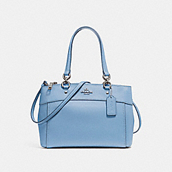 COACH F25395 - MINI BROOKE CARRYALL SILVER/POOL