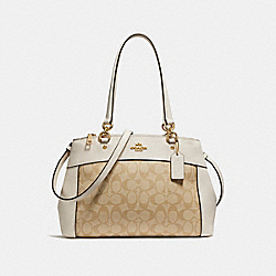 COACH F25396 - BROOKE CARRYALL LIGHT GOLD/LIGHT KHAKI