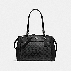COACH F25396 - BROOKE CARRYALL SILVER/BLACK SMOKE