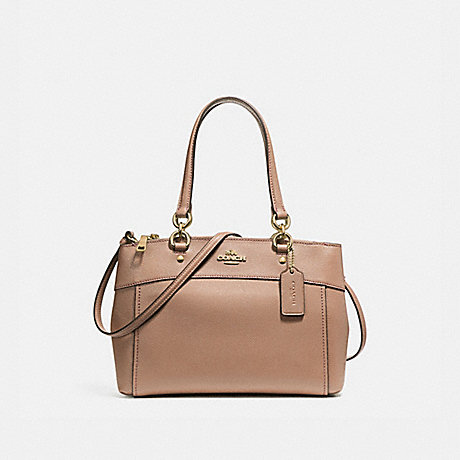 COACH f25397 BROOKE CARRYALL LIGHT GOLD/NUDE PINK