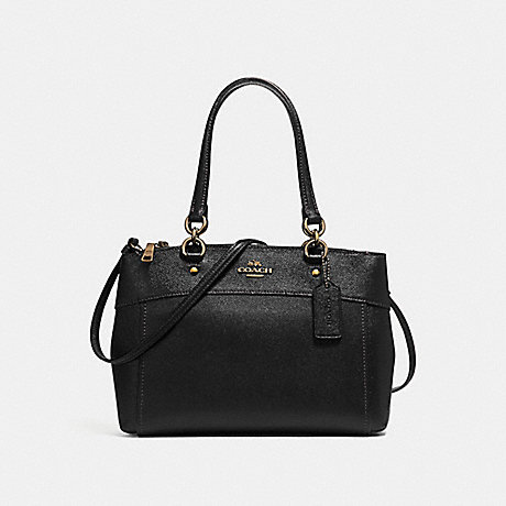 COACH F25397 BROOKE CARRYALL BLACK/LIGHT-GOLD