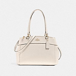 COACH F25397 - BROOKE CARRYALL LIGHT GOLD/CHALK