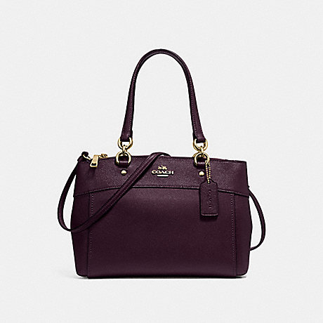 COACH F25397 BROOKE CARRYALL OXBLOOD-1/LIGHT-GOLD
