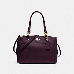COACH F25397 - BROOKE CARRYALL OXBLOOD 1/LIGHT GOLD