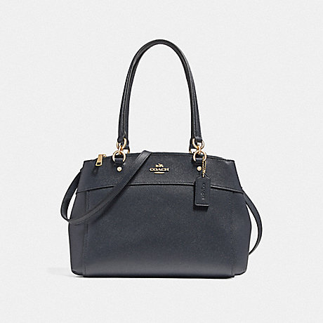 COACH f25397 BROOKE CARRYALL<br>蔻驰布鲁克包 光金/午夜