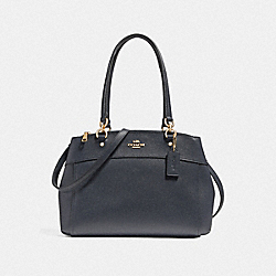 COACH F25397 Brooke Carryall LIGHT GOLD/MIDNIGHT