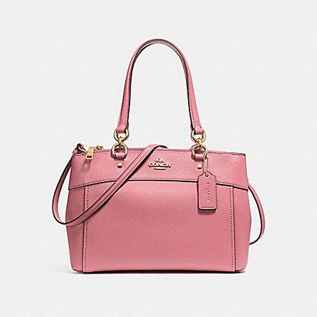 COACH f25397 BROOKE CARRYALL Vintage Pink/LIGHT GOLD