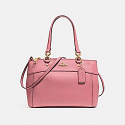 COACH F25397 - BROOKE CARRYALL VINTAGE PINK/LIGHT GOLD