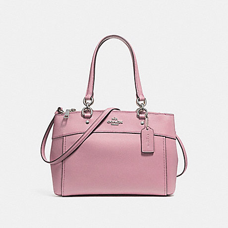 COACH f25397 BROOKE CARRYALL SILVER/BLUSH 2