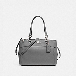 COACH F25397 - BROOKE CARRYALL HEATHER GREY/SILVER