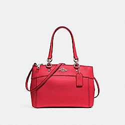 COACH F25397 - BROOKE CARRYALL WASHED RED/SILVER