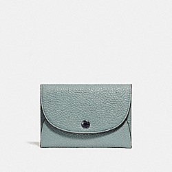 SNAP CARD CASE IN COLORBLOCK - F25414 - AGATE/GRAPHITE