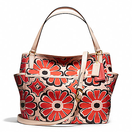 COACH F25643 - FLORAL SCARF PRINT BABY BAG TOTE - 19628 - COACH CLEARANCE