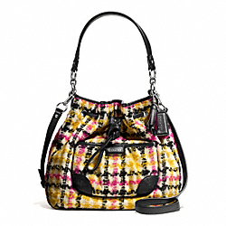 COACH F25674 - DAISY WOOL DRAWSTRING SHOULDER BAG ONE-COLOR