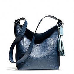 COACH F25678 - PEBBLED LEATHER DUFFLE ONE-COLOR