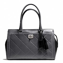 COACH F25828 Legacy Chelsea Carryall In Embossed Quilted Leather