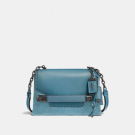 COACH F25833 COACH SWAGGER CHAIN CROSSBODY IN COLORBLOCK BP/CHAMBRAY