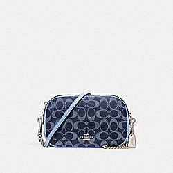 COACH F25878 - ISLA CHAIN CROSSBODY IN SIGNATURE DENIM SILVER/DENIM