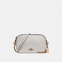 COACH ISLA CHAIN CROSSBODY - CHALK/LIGHT GOLD - F25922
