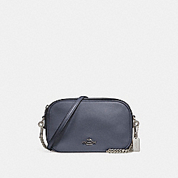 COACH F25922 Isla Chain Crossbody LIGHT GOLD/MIDNIGHT