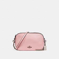 COACH F25922 - ISLA CHAIN CROSSBODY SILVER/BLUSH 2