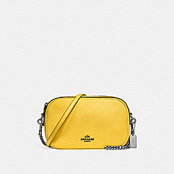COACH ISLA CHAIN CROSSBODY - CANARY 2/SILVER - F25922