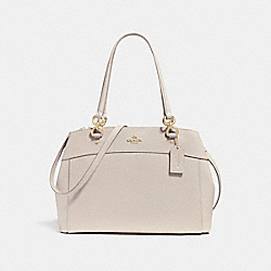 LARGE BROOKE CARRYALL - f25926 - LIGHT GOLD/CHALK