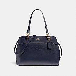 LARGE BROOKE CARRYALL - f25926 - LIGHT GOLD/MIDNIGHT