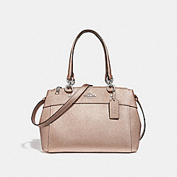 COACH F25928 Mini Brooke Carryall ROSE GOLD/SILVER