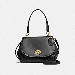 COACH F25934 - FAYE CARRYALL LIGHT GOLD/BLACK