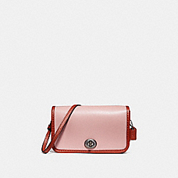 COACH MICRO PENNY CROSSBODY - BLUSH/TERRACOTTA/BLACK ANTIQUE NICKEL - F25951