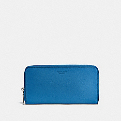 COACH F25997 Accordion Wallet BLUE JAY